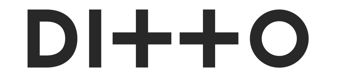 Ditto Logo Black