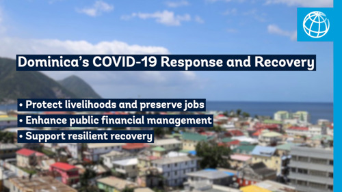World Bank Approves US$25 Million Credit for Dominica's COVID-19 Response and Recovery
