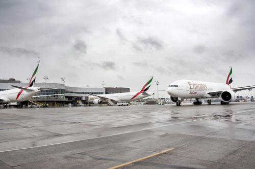 Emirates Receives Company Record Delivery of Four New Wide-body Aircraft in One Day