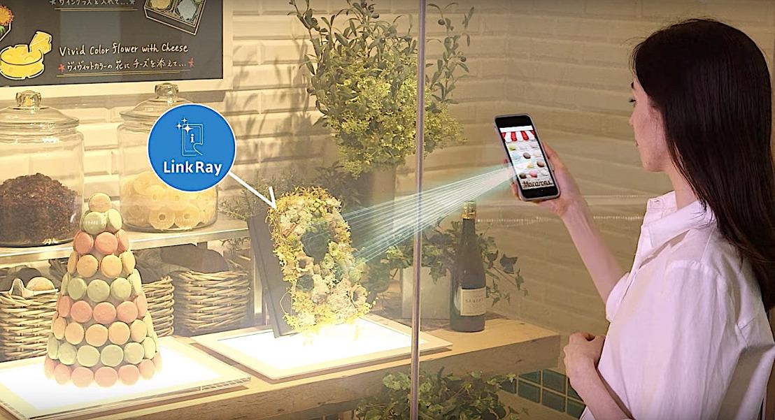 LinkRay información en el punto de venta a la velocidad de la luz