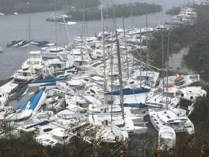 Visuals of regional destruction post-Hurricane Irma.