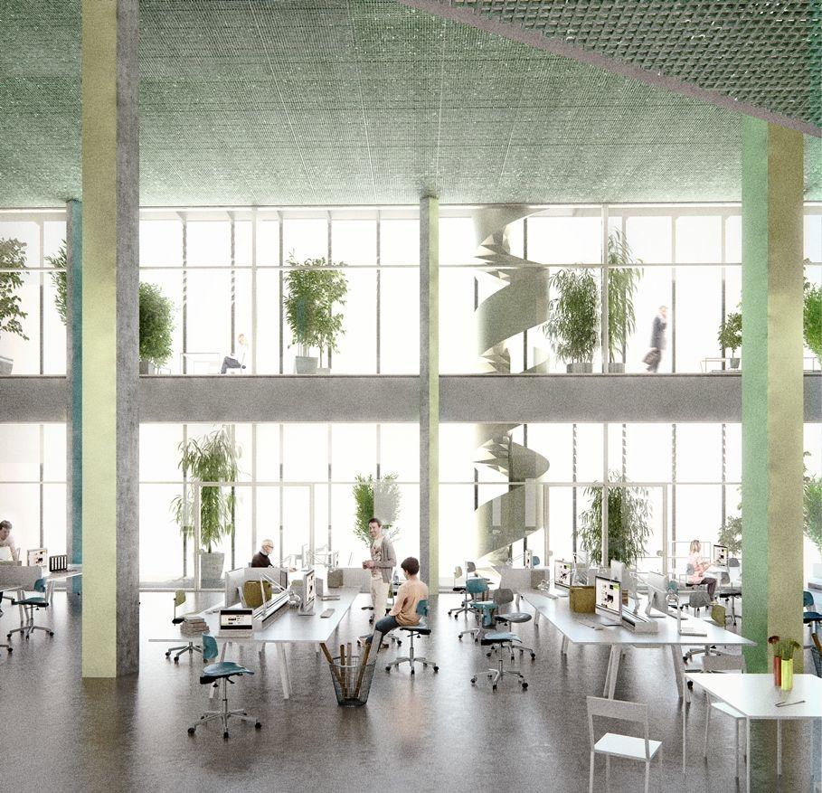 Beeld nieuw VRT-gebouw - ® Make Me - Robbrecht en Daem architecten en Dierendonckblancke architecten