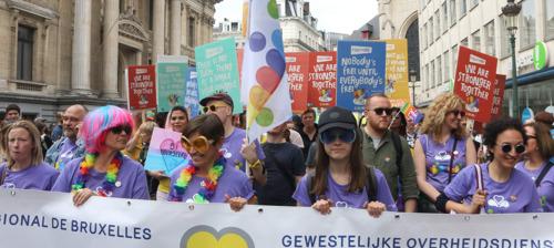 Belgian Pride eist inclusiviteit van bedrijven en politieke partijen die willen deelnemen aan Pride Parade