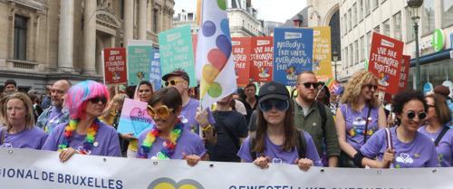 La Belgian Pride vérifie l'inclusivité des entreprises et des partis politiques qui souhaitent participer au cortège de la Belgian Pride