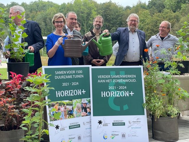 Het verduurzamen van de tuinen in de regio met de hulp van tuinrangers is een deelproject van Horizon+