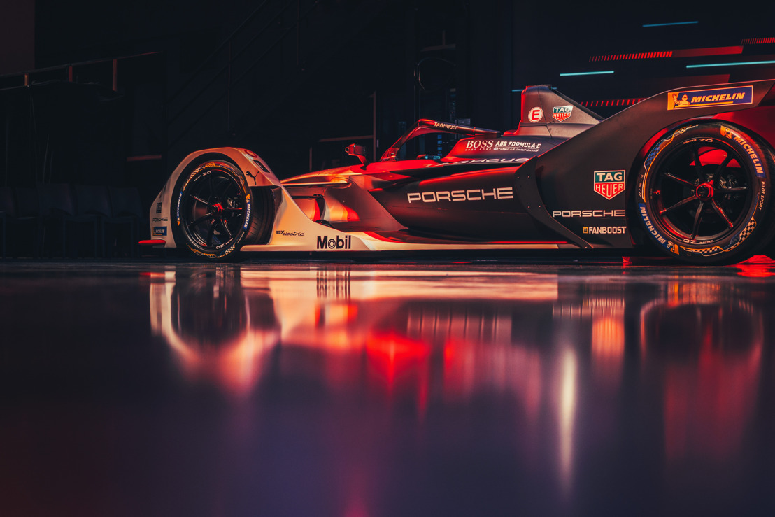 Premiere for TAG Heuer Porsche Formula E Team