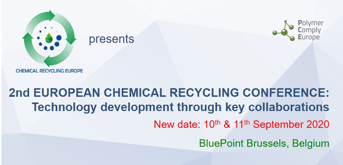Postponed: 2nd EUROPEAN CHEMICAL RECYCLING CONFERENCE