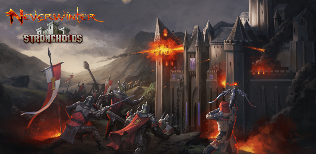 Massive Guild Battles Now Available with Neverwinter: Stronghold Siege