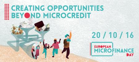 Logo Europese Dag van de Microfinanciering