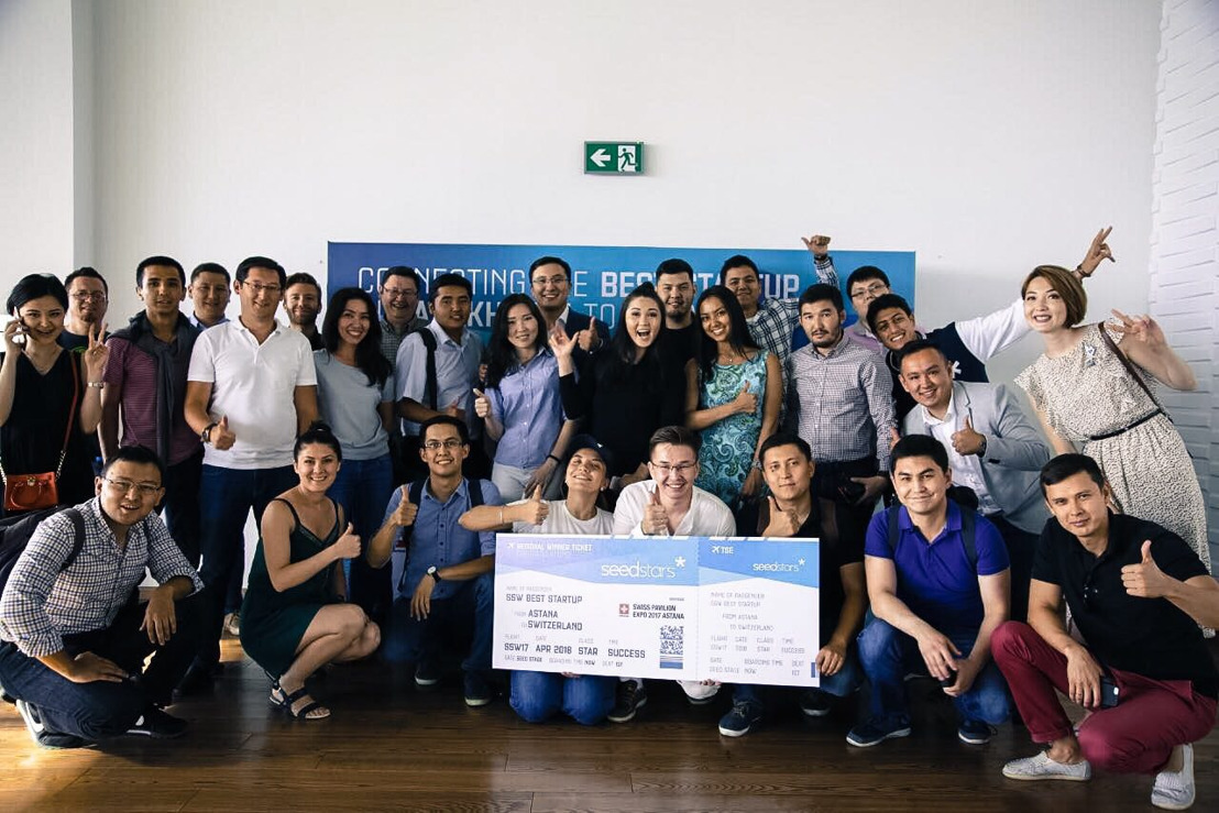Constant-lab named Kazakh most promising startup at Seedstars Astana