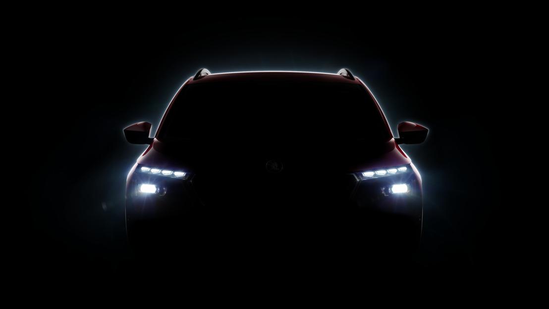 Première mondiale du nouveau crossover : ŠKODA élargit sa gamme de SUV