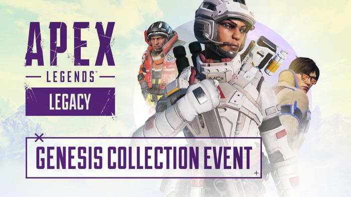Apex Legends présente l'événement de collection Genèse du 29 juin au 13 juillet