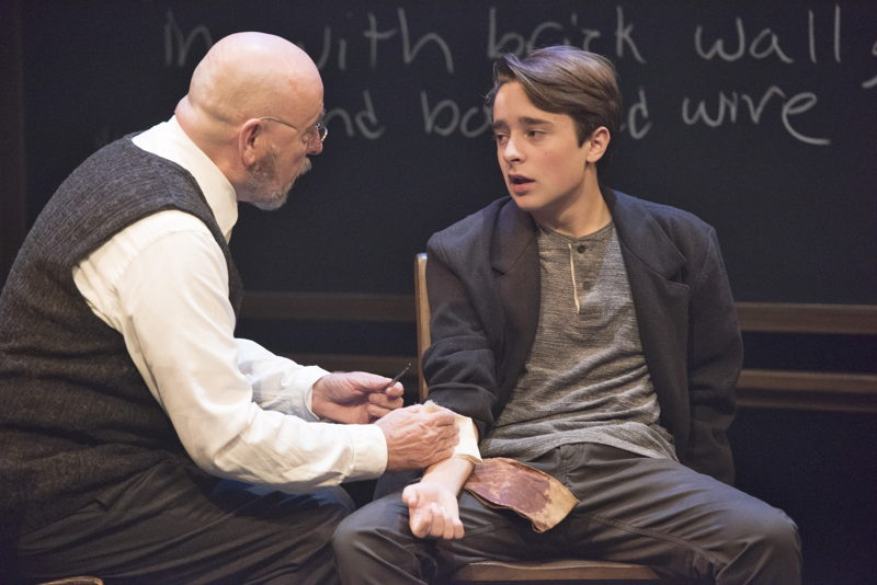 Paul Rainville and Zander Eke in The Children's Republic by Hannah Moscovitch / Photos by David Cooper