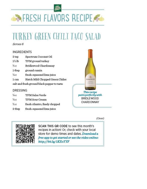 Recipe: Turkey Green Chili Taco Salad (1)