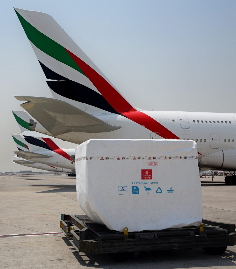 Emirates SkyCargo launches White Cover Xtreme in collaboration with DuPont