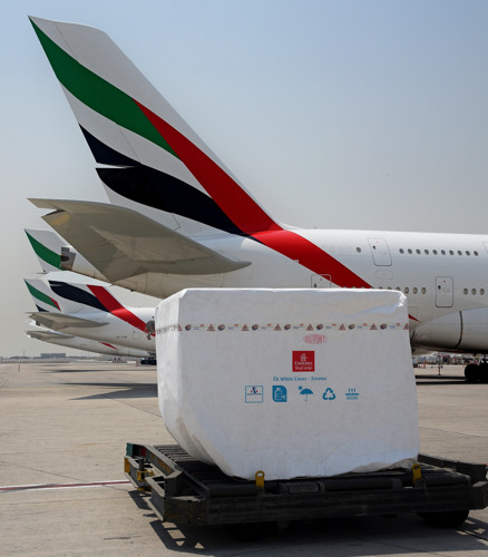 Emirates SkyCargo launches new temperature protection solution