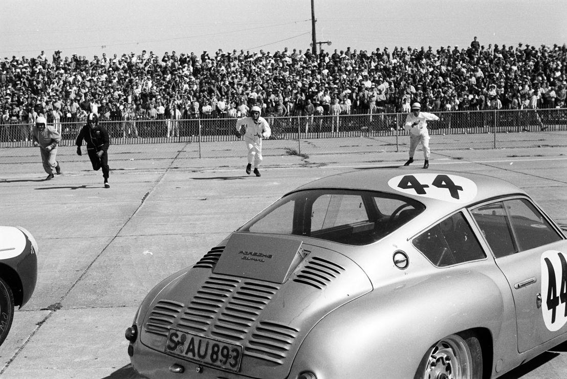 1961. Porsche 356 B 1600 GS Carrera GTL Abarth