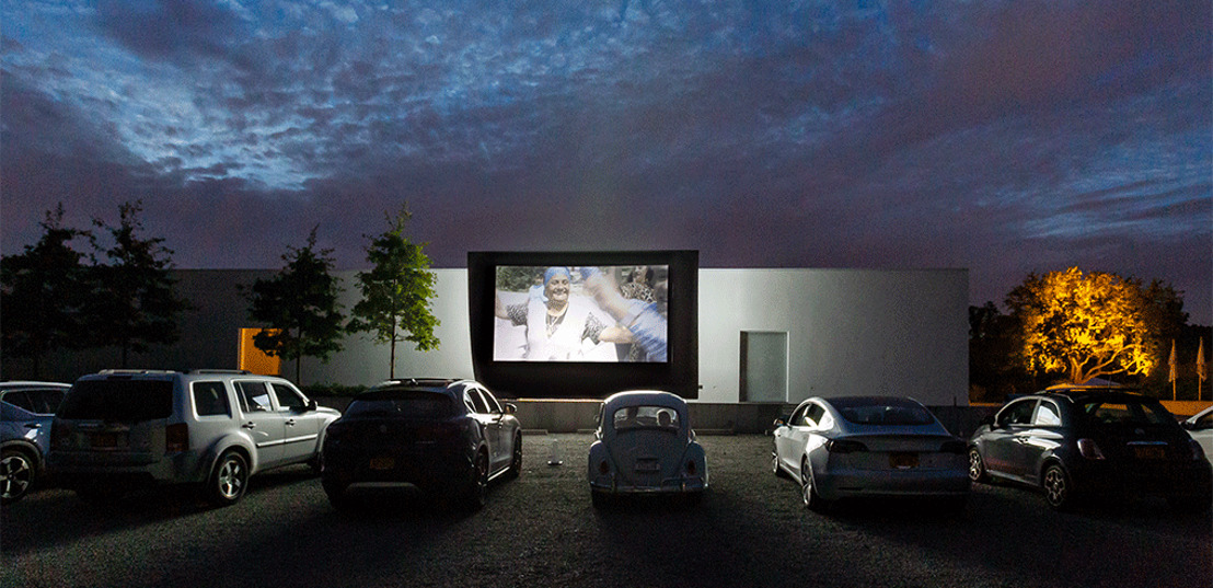 WSDG Fine-Tunes Drive-In Theater for Magazzino Italian Art 'Cinema In Piazza' Summer Film Screenings