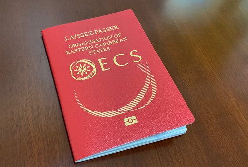 New Machine-Readable OECS Electronic Laissez-Passer for Officials of OECS Institutions