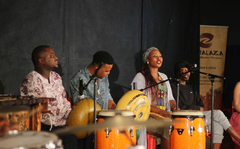 The Addis Ababa Assembly with Keketso Bolofo, Sabu Jiyana, Xoliswa Tom and Thabiso Nkoana - credit Sithembele Jnr