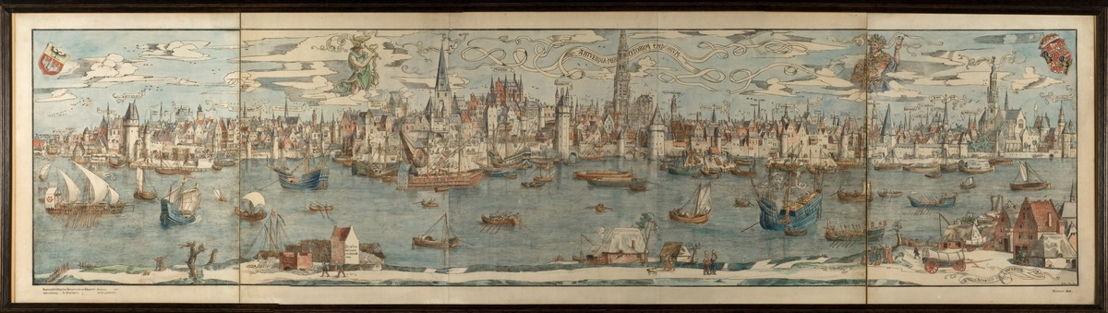 16de-eeuws Antwerpen. Collectie Stad Antwerpen, Museum Plantin-Moretus