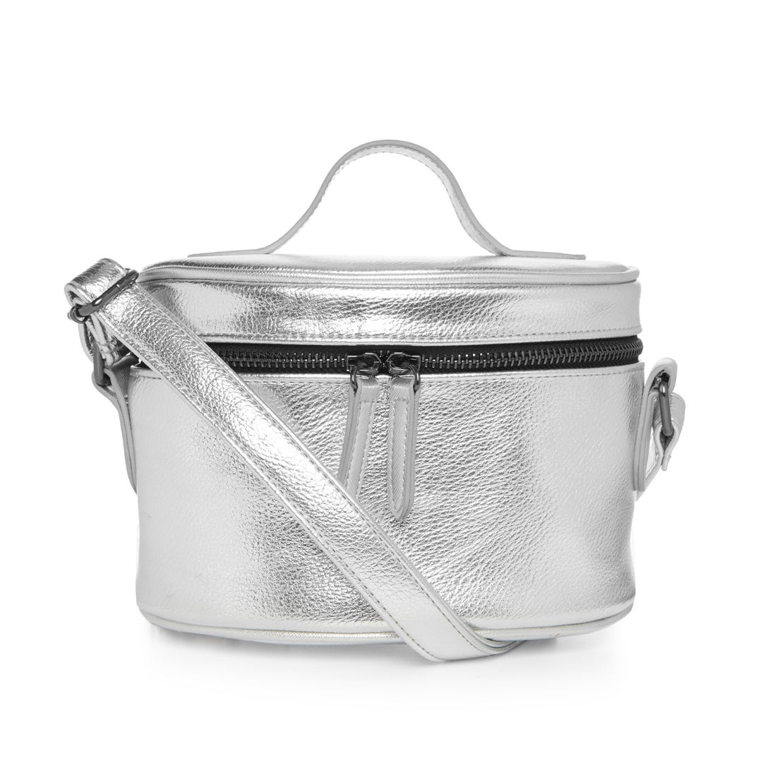 Silver metallic camer bag - €8