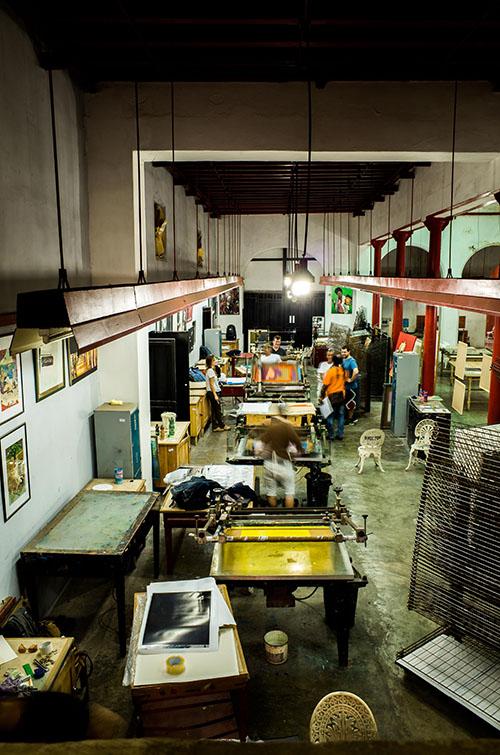 Beroepen zonder grenzen - drukkers in Cuba (c) VRT