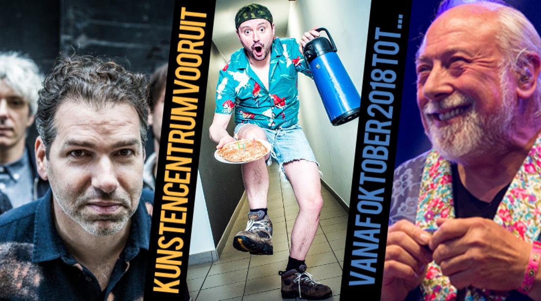 Gents comedyseizoen bijna van start met o.a. Urbanus, Han Solo, Yevgueni en vele anderen