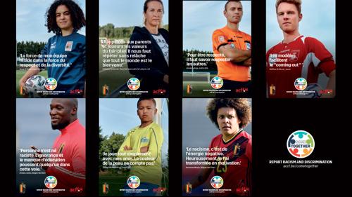 L'URBSFA, l'ACFF et Voetbal Vlaanderen invitent les clubs amateurs à lutter ensemble contre la discrimination et le racisme