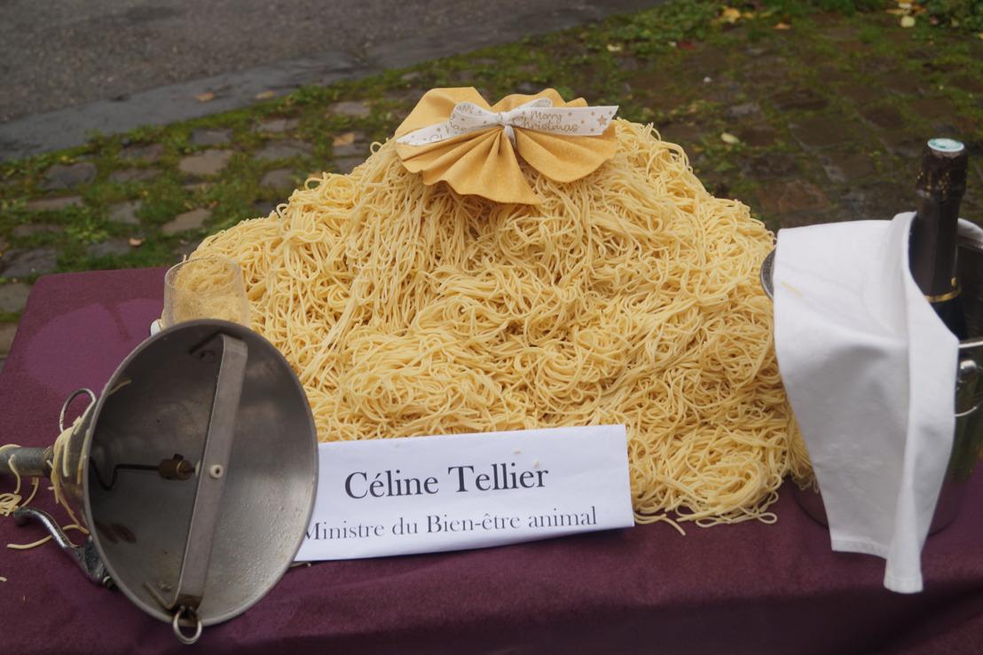 82 089 signatures pour interdire le gavage en Wallonie : GAIA remet sa pétition au cabinet de Céline Tellier avec en bonus une mise en situation.