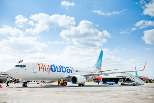 flydubai celebrates ten years of flying to Ukraine