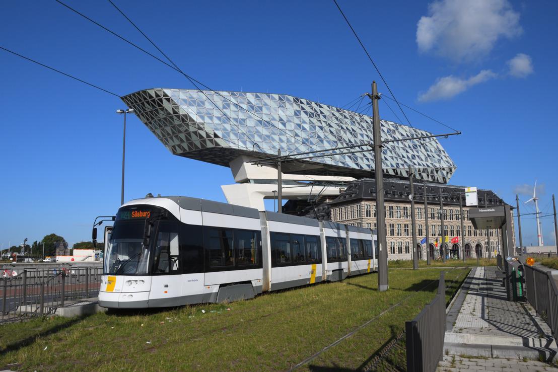 Antwerpen Nachtmarathon: hinder voor bus- en tramverkeer