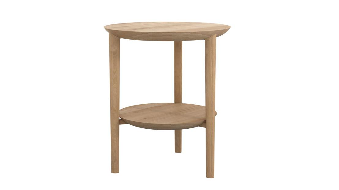Ethnicraft Oak Bok side table