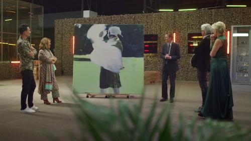 Bent Van Looy verrast dealers met eigen kunstwerk in derde aflevering Stukken van Mensen