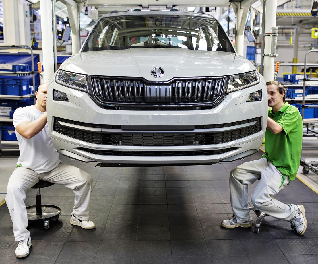 250,000th KODIAQ manufactured: a new milestone in the ŠKODA SUV campaign