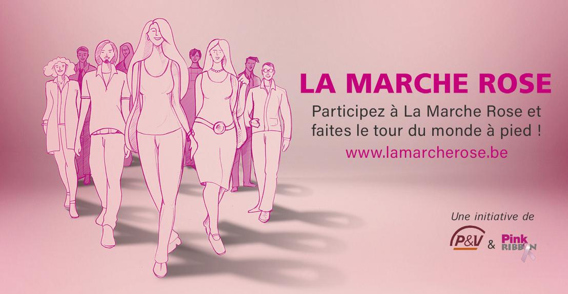 Pink Ribbon organise La Marche Rose pour lutter contre le cancer du sein
