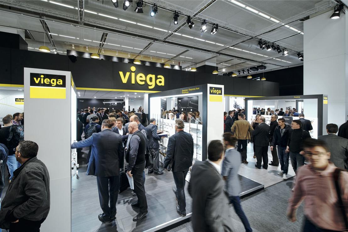 Innovaties van Viega maken installatie sneller, veiliger en zuiniger