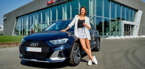 Audi partner van gymnaste Nina Derwael