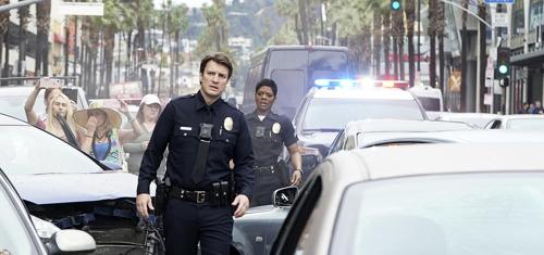 "Nathan ""Richard Castle"" Fillion schittert als John Nolan in het nieuwe The Rookie"