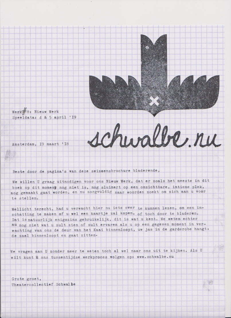 Schwalbe - Werk #8: Nieuw Werk - 3 > 4/04 © Schwalbe