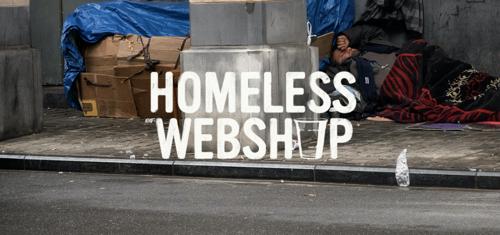 Solidarité Grands Froids et TBWA lancent le 'Homeless Webshop', un site à la recherche d'un hébergement sur d'autres sites