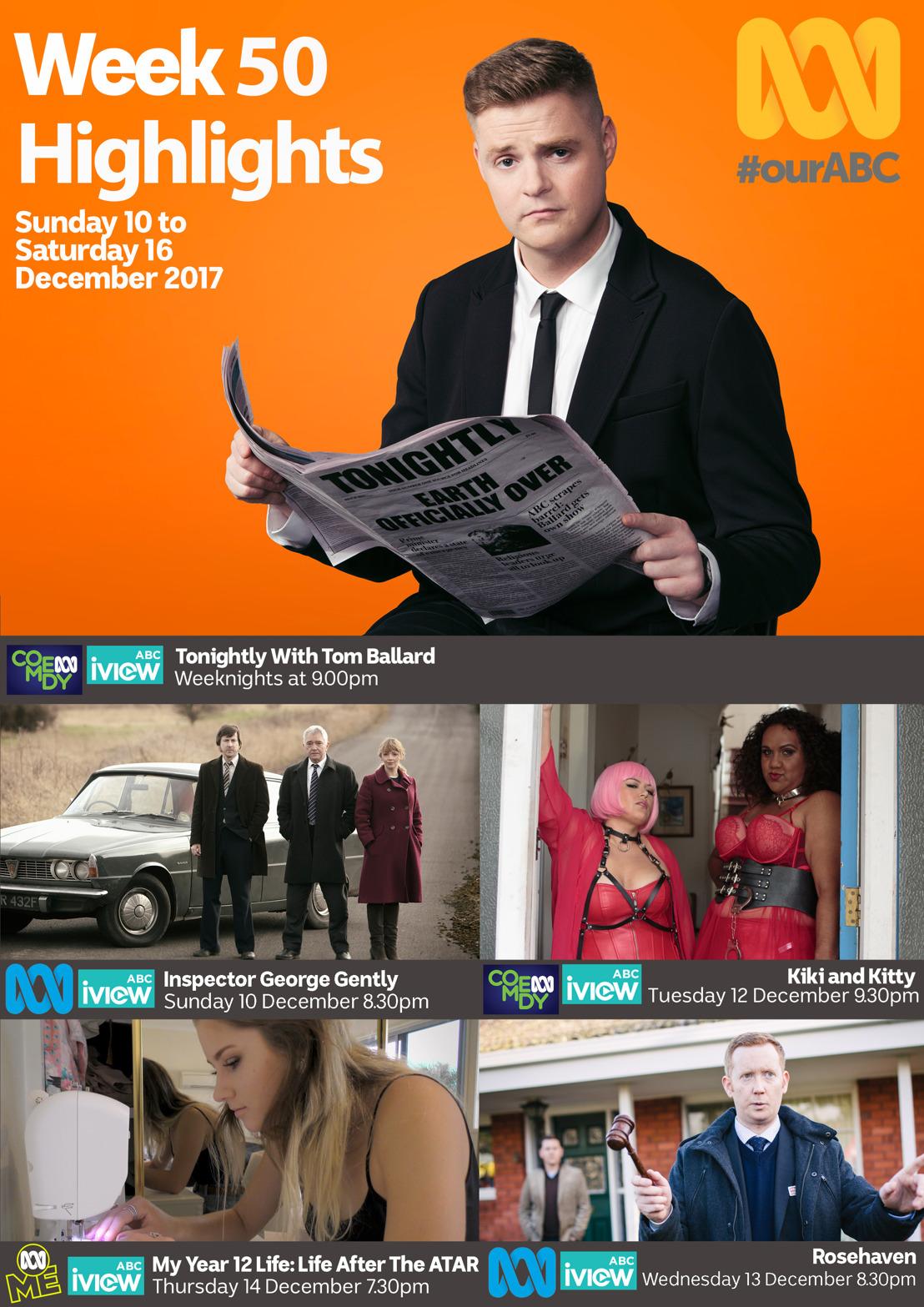 ABC TV Program Highlights - Week 50