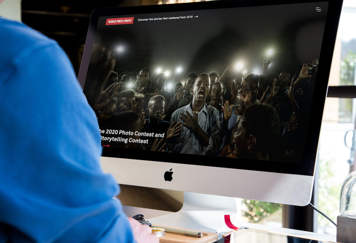 World Press Photo wins Gold Horizon Awards in Advocacy and Website news