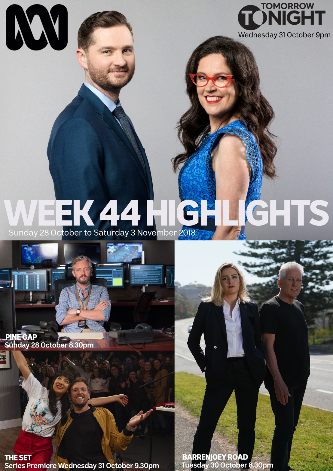 ABC TV Program Highlights - Week 44