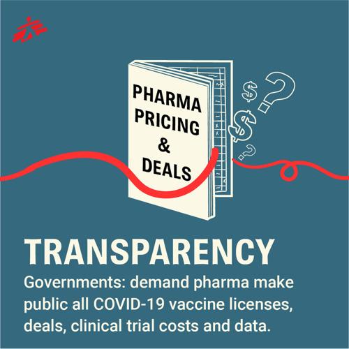 Covid-19-vaccin: regeringen moeten transparantie eisen van farmaceutische bedrijven over alle licentieovereenkomsten