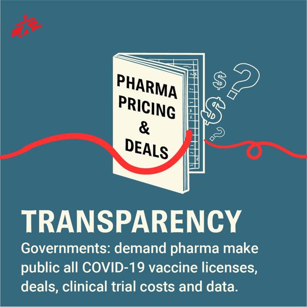 Preview: Vaccin COVID-19: les gouvernements doivent exiger la transparence des sociétés pharmaceutiques sur tous les accords de licence