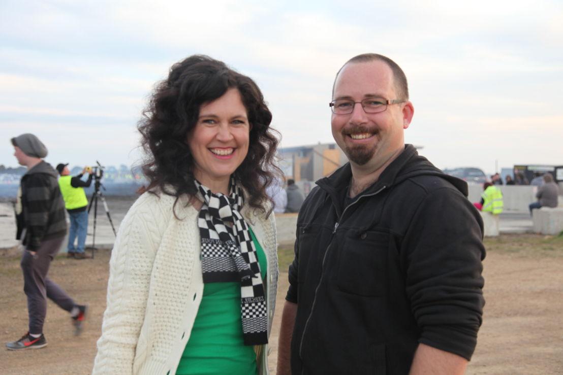 Annabel Crabb & Ricky Muir