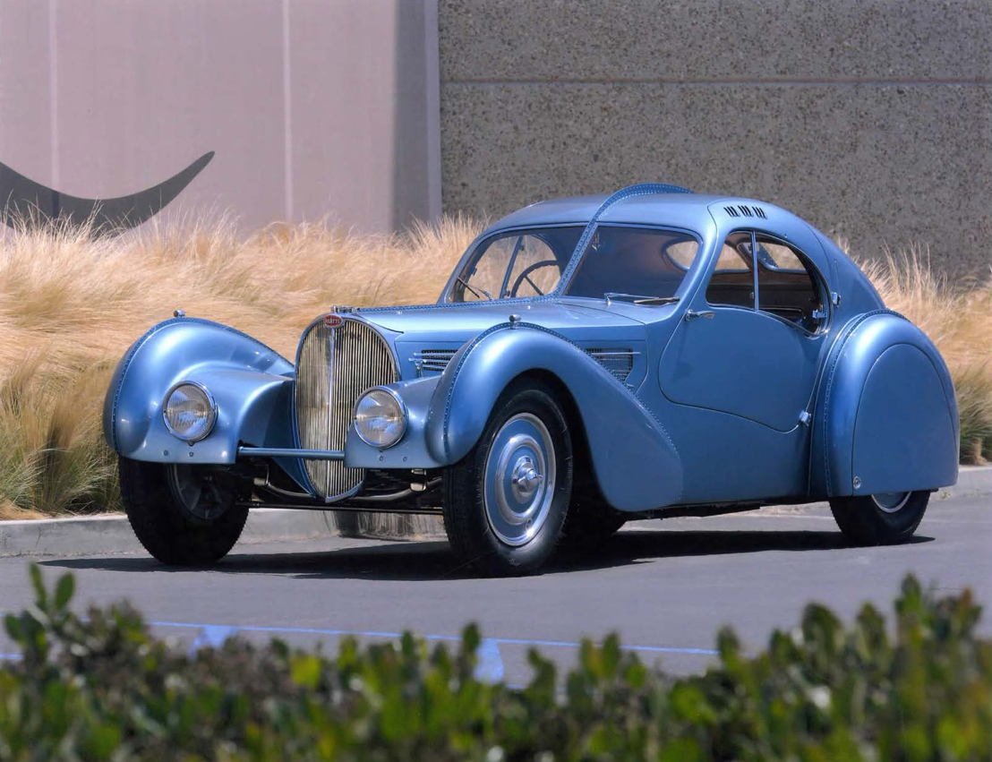 1936 Bugatti Types 57 SC Coupé Atlantic