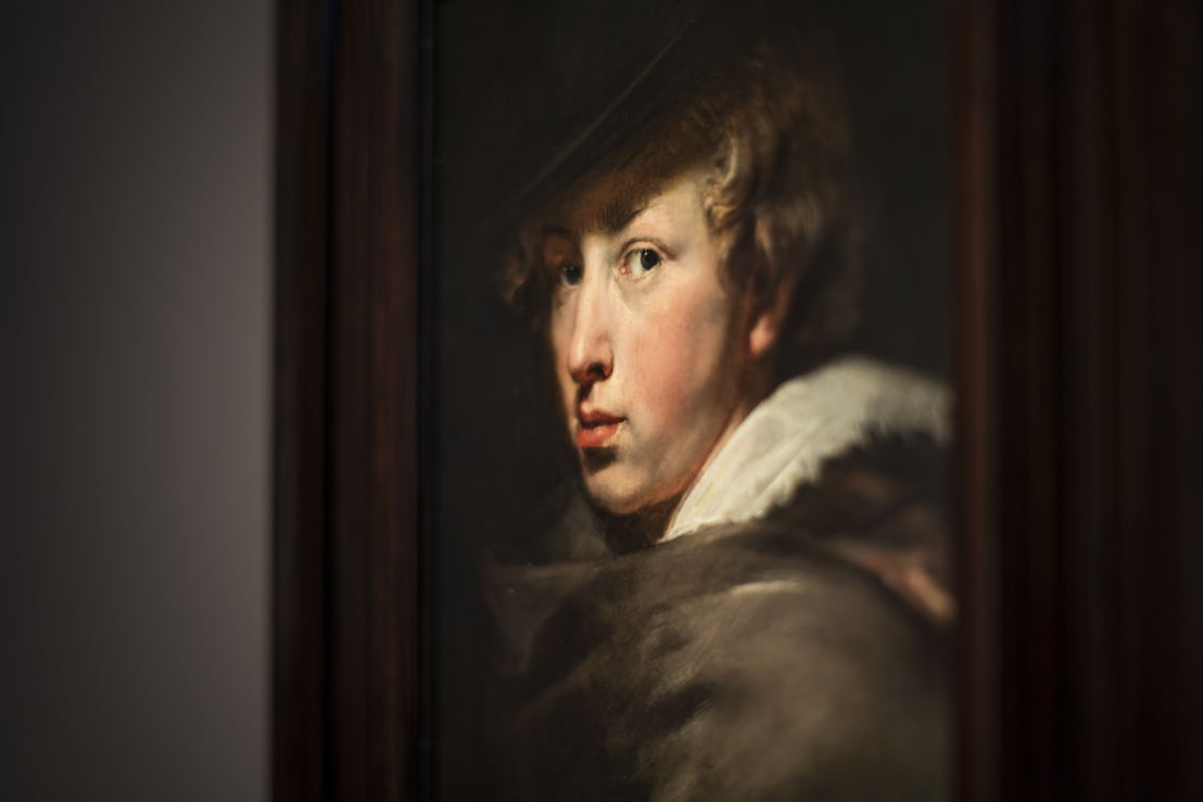 Anthony van Dyck, zelfportret, (c) Ans Brys