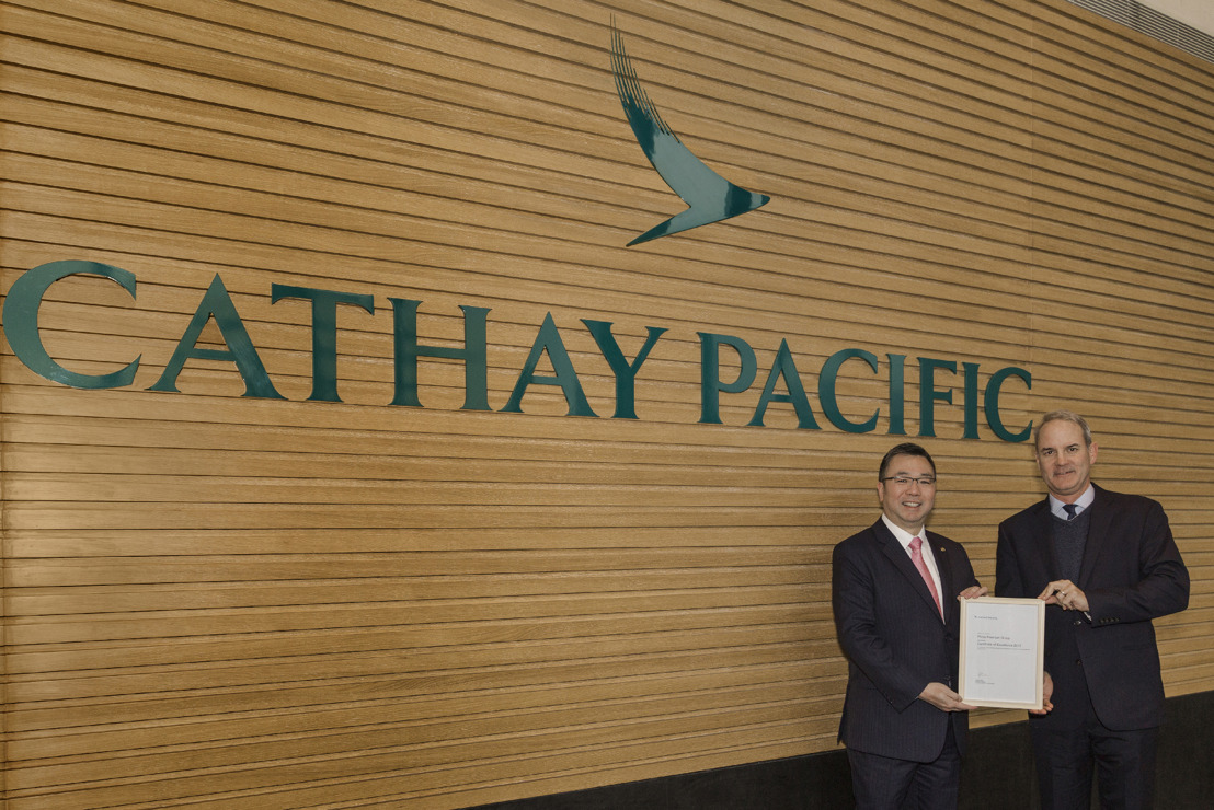Cathay Pacific and Plaza Premium celebrate longstanding partnership